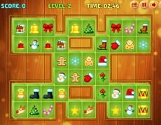 Mahjong Deluxe 2017 - Vianočný mahjong