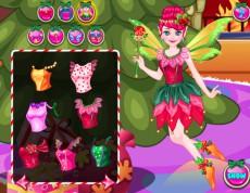 Flower Fairy Christmas - Vianočná víla