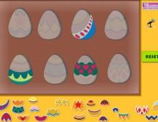 Easter Eggs Puzzle - Poskladaj veľkonočné vajíčka