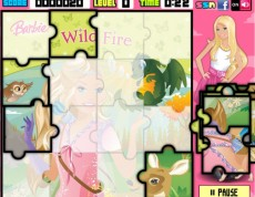 Barbie Puzzle Set  - Zahraj si Barbie puzzle