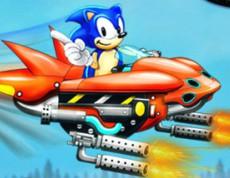 Sonic Sky Impact - Strieľačka so Sonicom