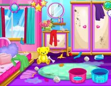 Beauty Doll´s House - Pomôž upratať izbičku!