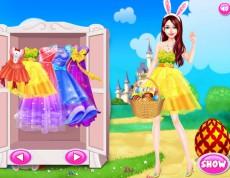 Easter Bunny Girl - Obleč Ester!