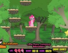 Little Pony Jumping - Dostať Ponyho na ostrovček
