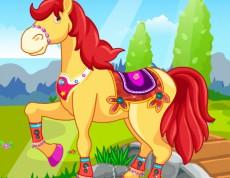 Princesses Horse Caring - Postaraj sa o koníka!