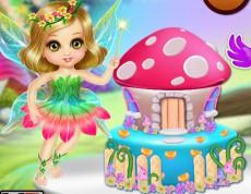 Fantasy House Design Cake - Upeč si fantastickú tortu!