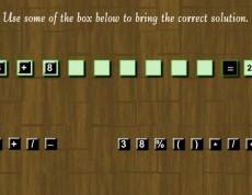 Logic Number Game - Matematické príklady