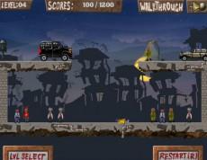 Zombie Smasher - Plné mesto zombíkov