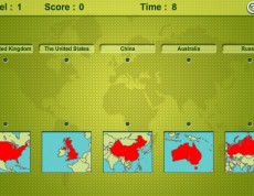 Mapping Maps - Priraď mapu k štátu
